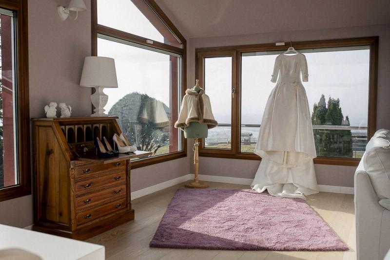 vestido novia invierno www.bodasdecuento.com