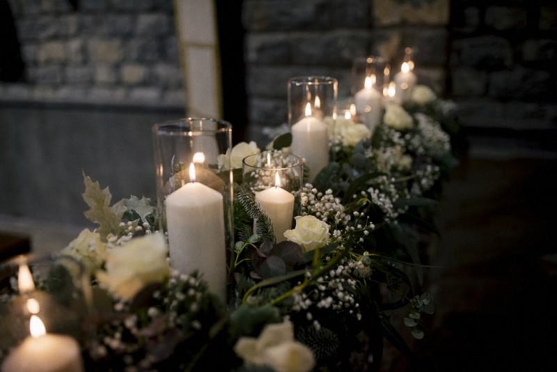 decoración velas iglesia boda www.bodasdecuento.com
