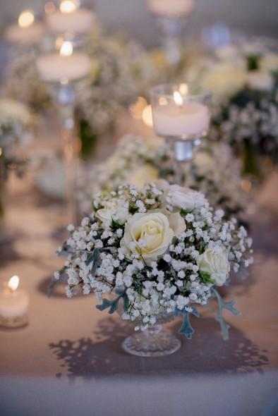 centro de mesa paniculata www.bodasdecuento.com