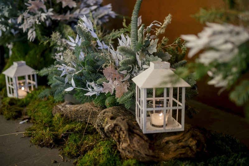 ideas decoración winter wedding www.bodasdecuento.com