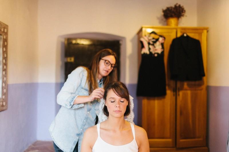 peluquería novia natural www.bodasdecuento.com
