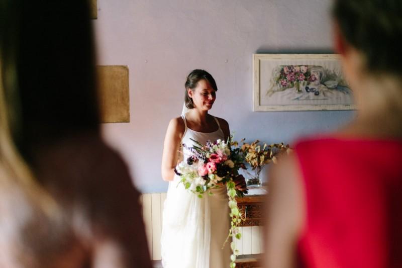 entrega ramo novia www.bodasdecuento.com