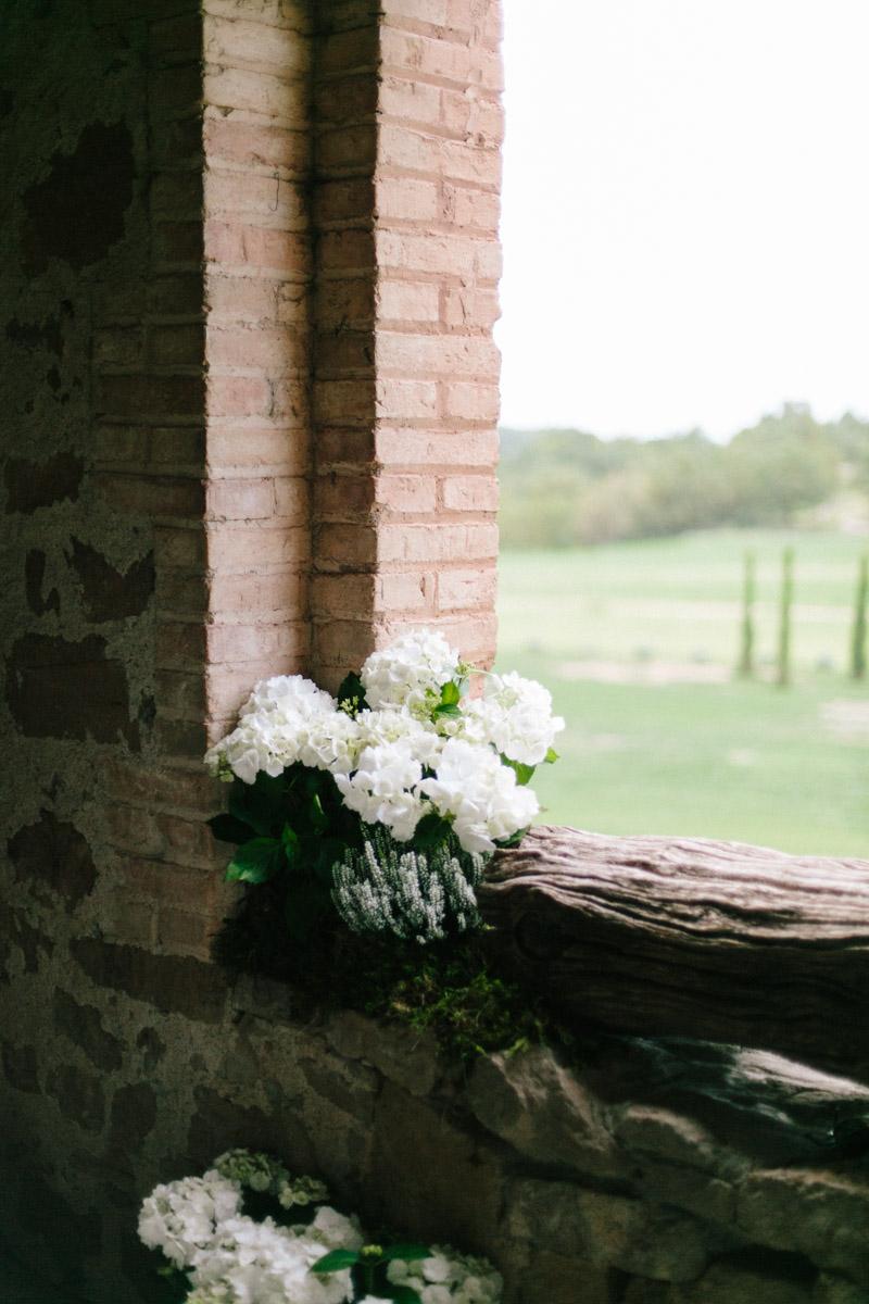 decoración ceremonia rustica www.bodasdecuento.com