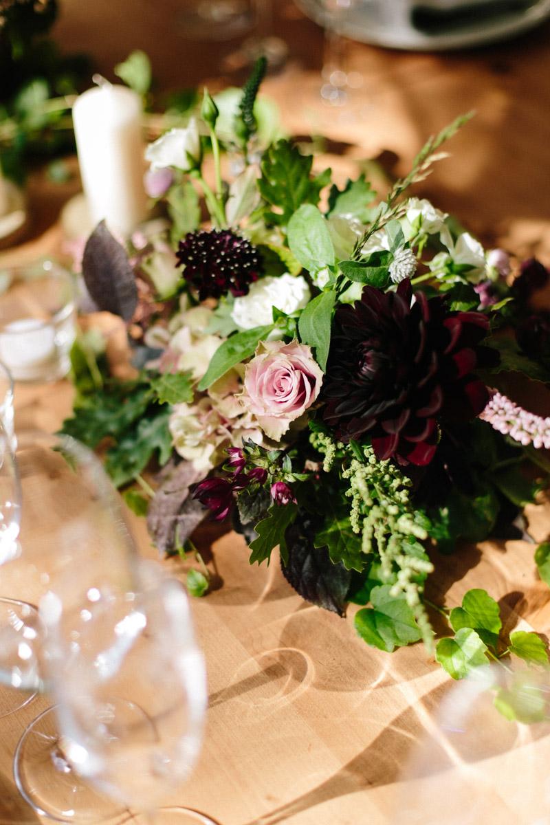 centro flores moderno www.bodasdecuento.com