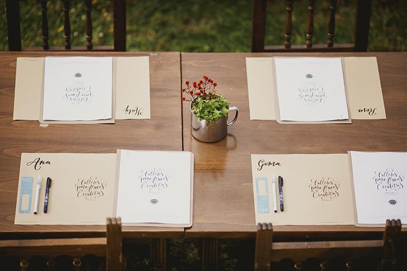 clase-caligrafia www.bodasdecuento.com