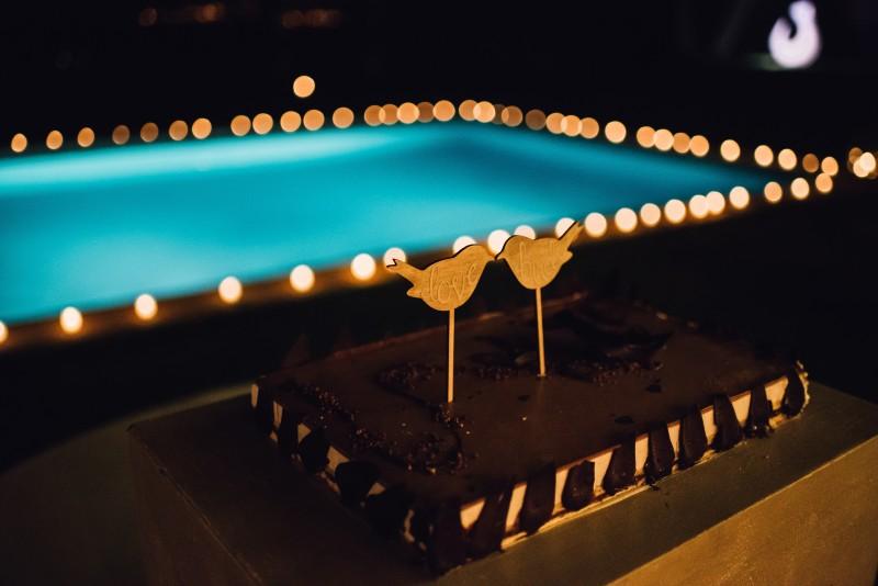 cake topper pajaritos www.bodasdecuento.com