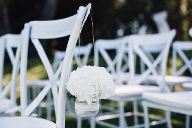 tarrito flor silla www.bodasdecuento.com