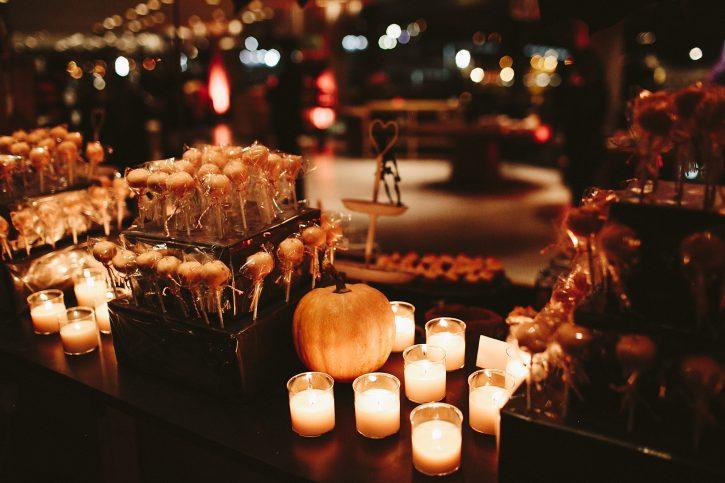 halloween candy bar www.bodasdecuento.com