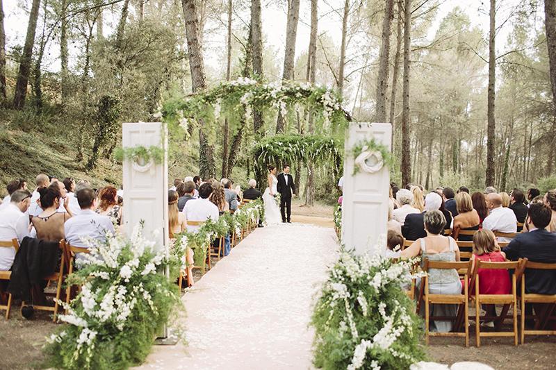 puertas ceremonia boda www.bodasdecuento.com