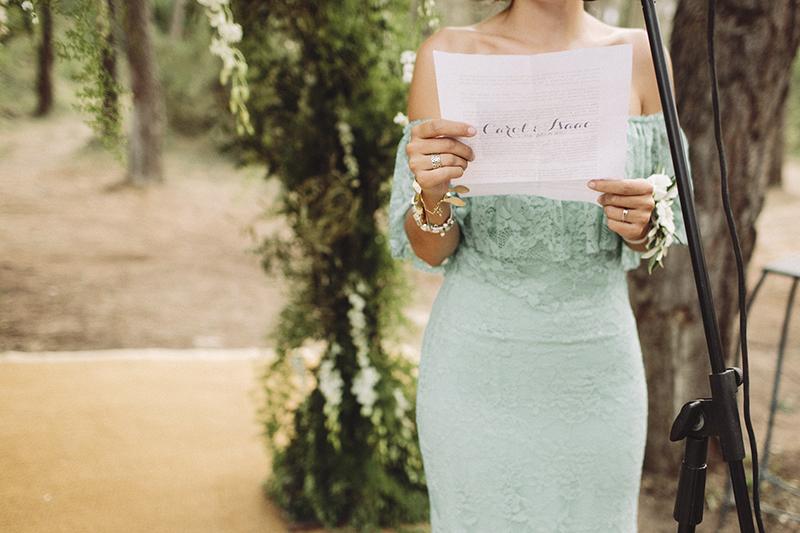 vestido dama de honor www.bodasdecuento.com