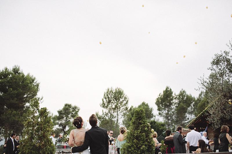 suelta de globos boda www.bodasdecuento.com