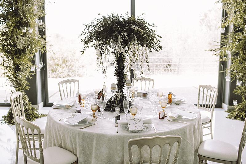 centros de mesa altos www.bodasdecuento.com
