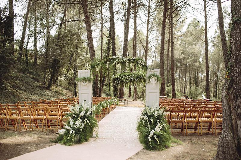 boda bosque la garriga de castelladral www.bodasdecuento.com