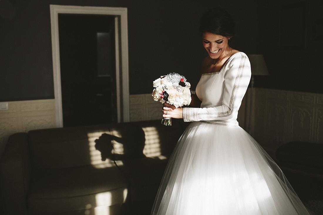 vestido novia santos costura