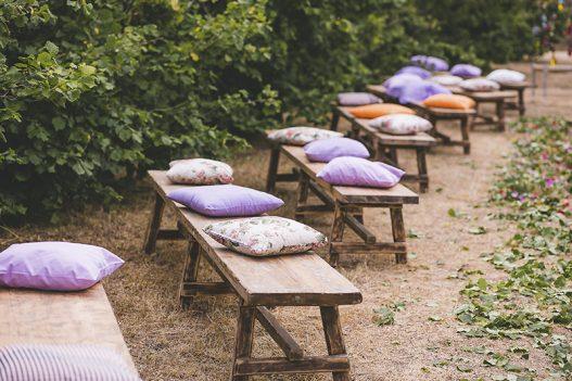 bancos de madera boda www.bodasdecuento.com