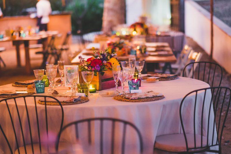 decoración rústica boda www.bodasdecuento.com