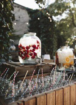 dispensador limonada boda www.bodasdecuento.com