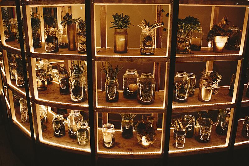 decoración flores bornay www.bodasdecuento.com
