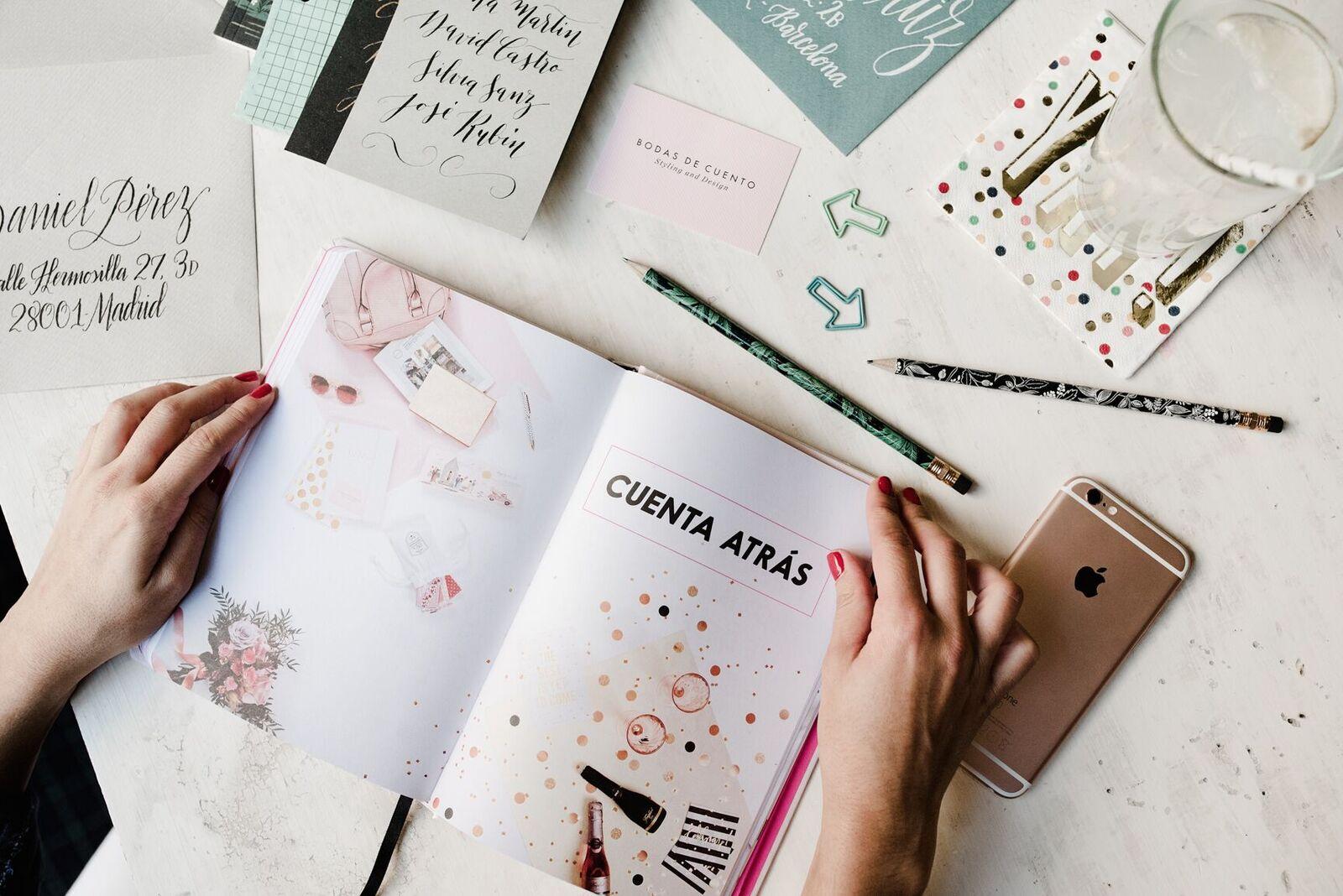 La agenda perfecta para tu boda - Agenda Boda