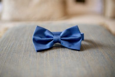 pajarita azul novio www.bodasdecuento.com