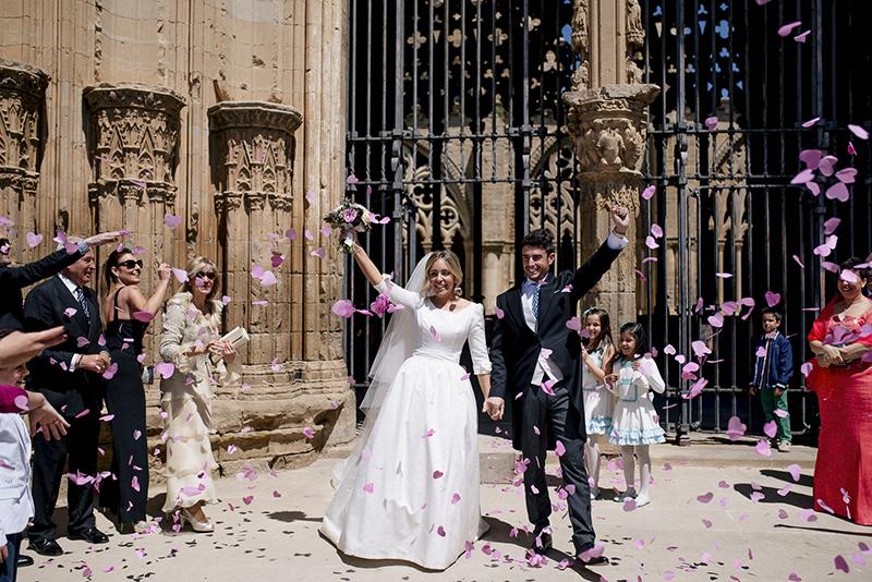 salida novios iglesia www.bodasdecuento.com
