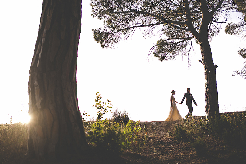 boda bosque barcelona www.bodasdecuento.com