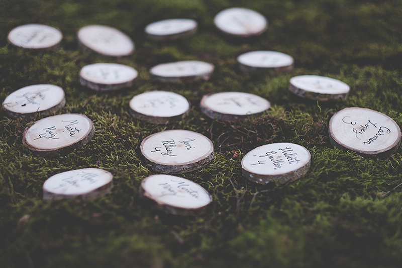 rodajas madera boda www.bodasdecuento.com