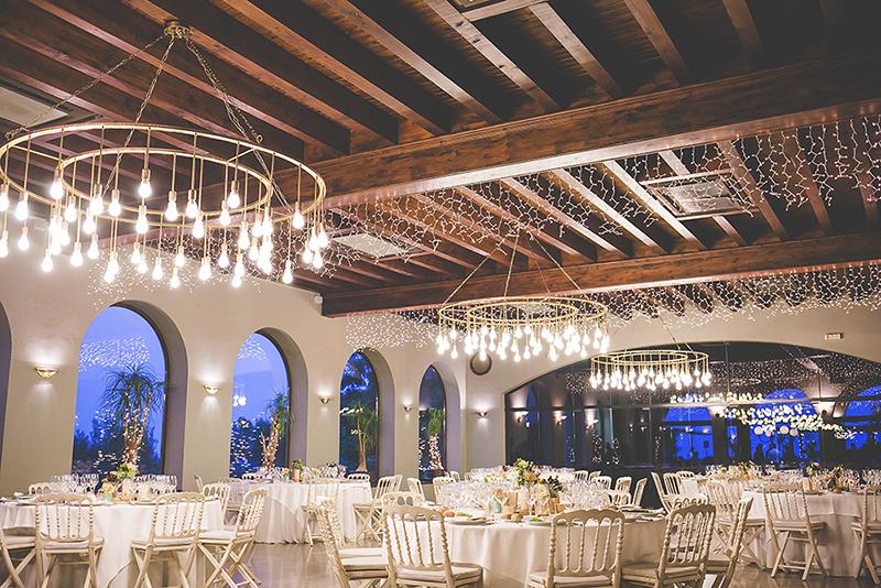iluminación espectacular boda www.bodasdecuento.com