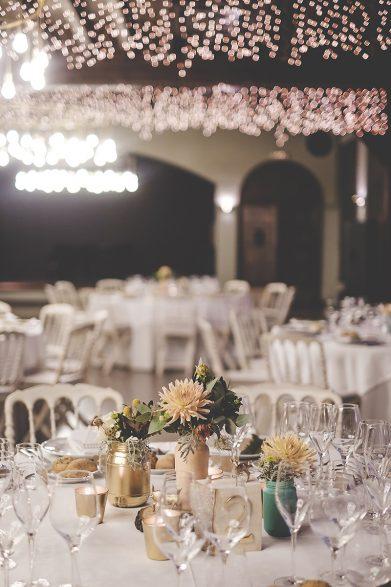decoración banquete boda www.bodasdecuento.com