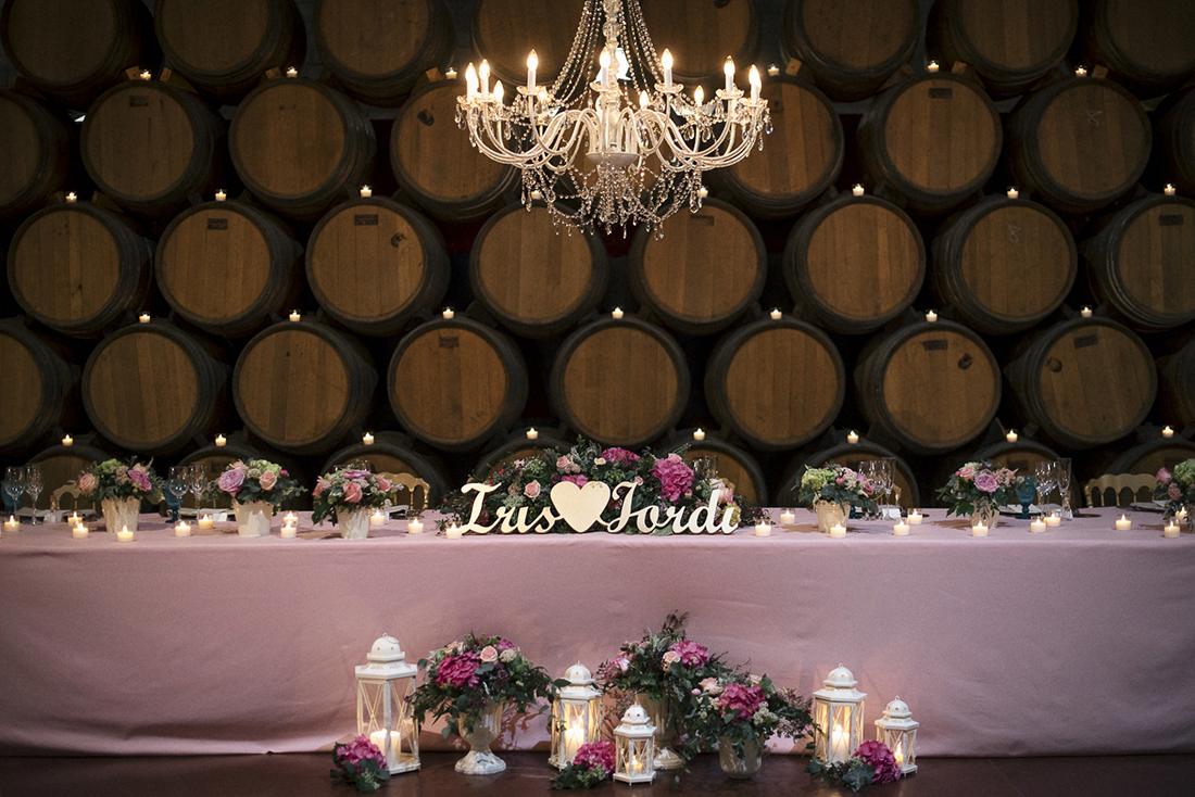 lampara de araña boda www.bodasdecuento.com