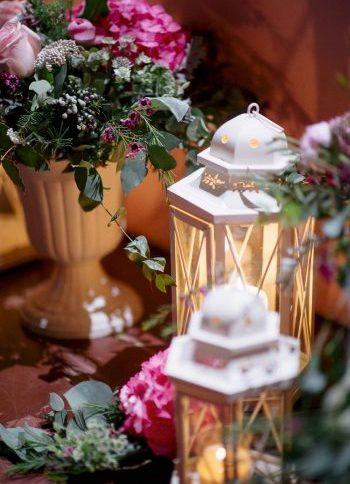 decoración romántica boda www.bodasdecuento.com