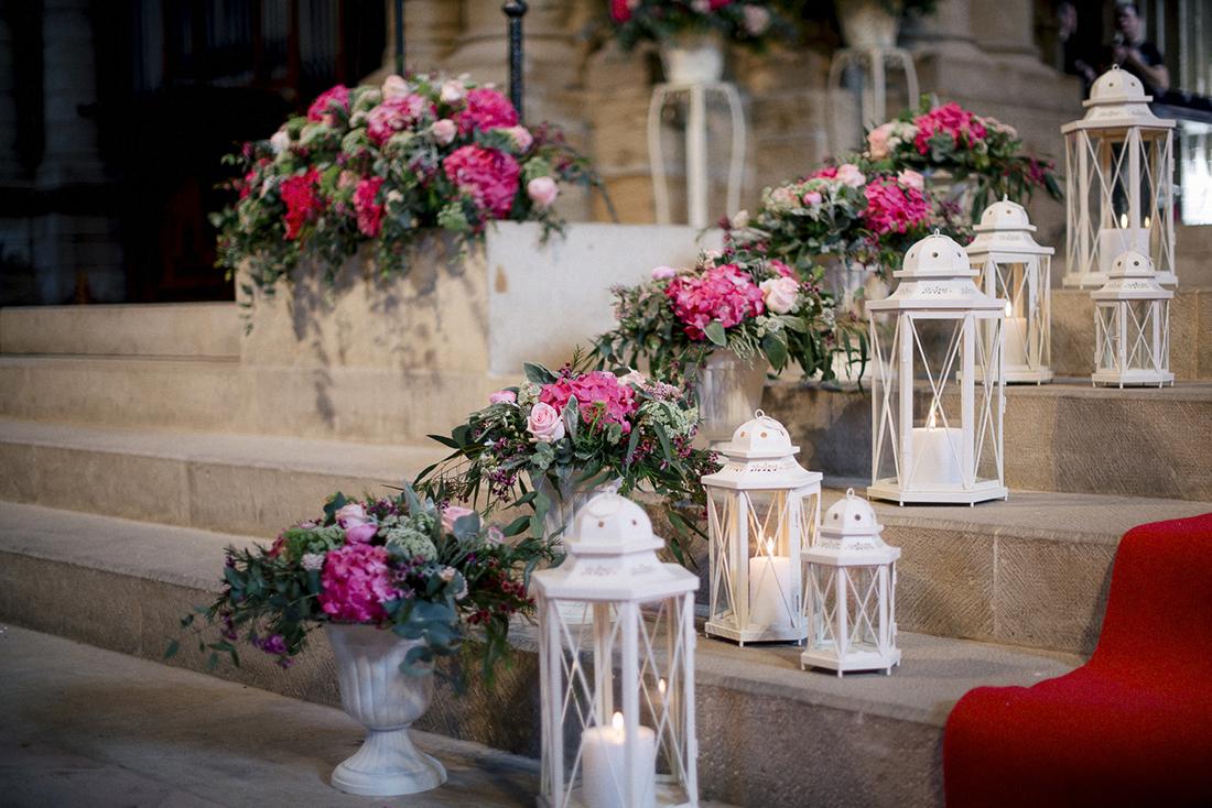 decoración iglesia boda www.bodasdecuento.com