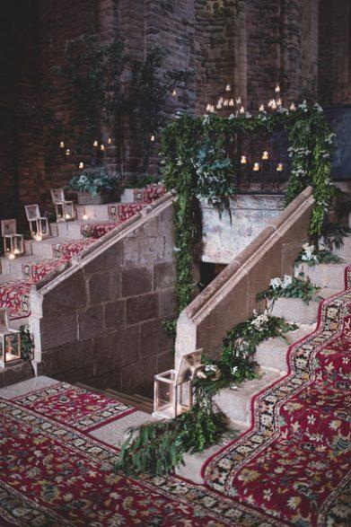 decoración boda religiosa www.bodasdecuento.com