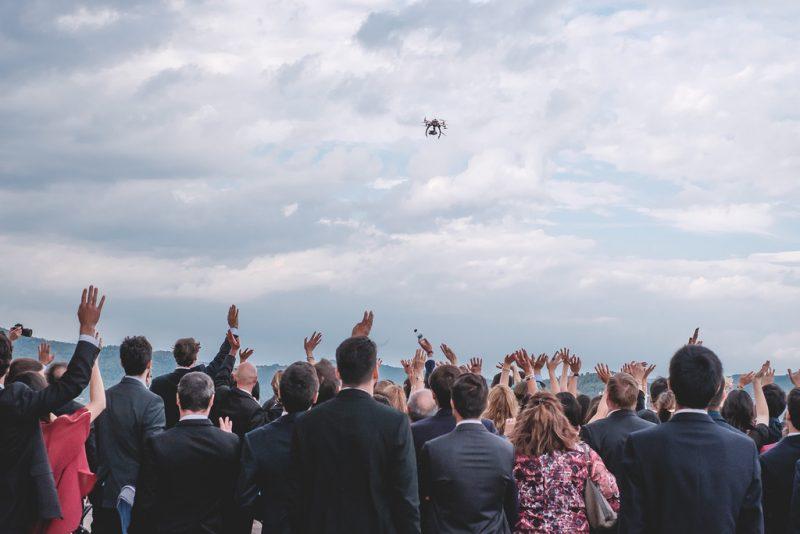 dron video boda www.bodasdecuento.com