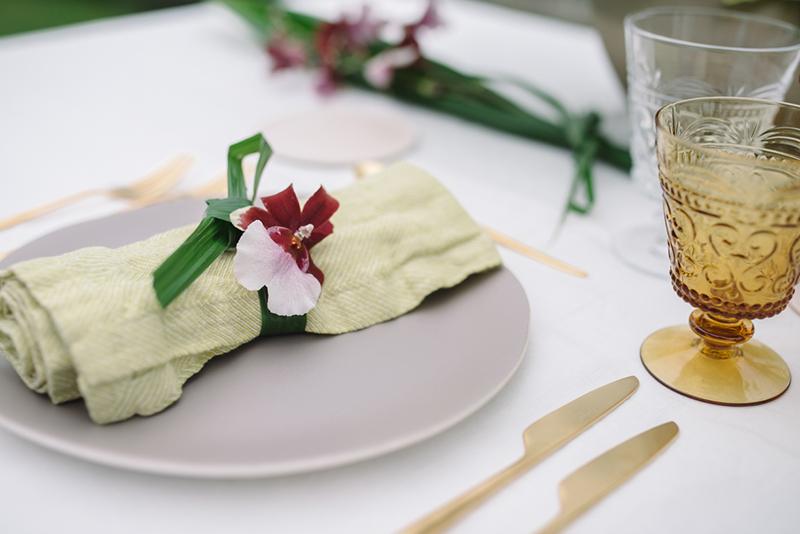 material decoración mesa boda www.bodasdecuento.com