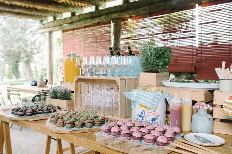 decoración buffets catering www.bodasdecuento.com