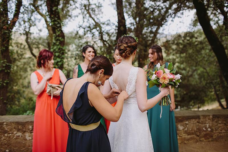 damas de honor novia www.bodasdecuento.com