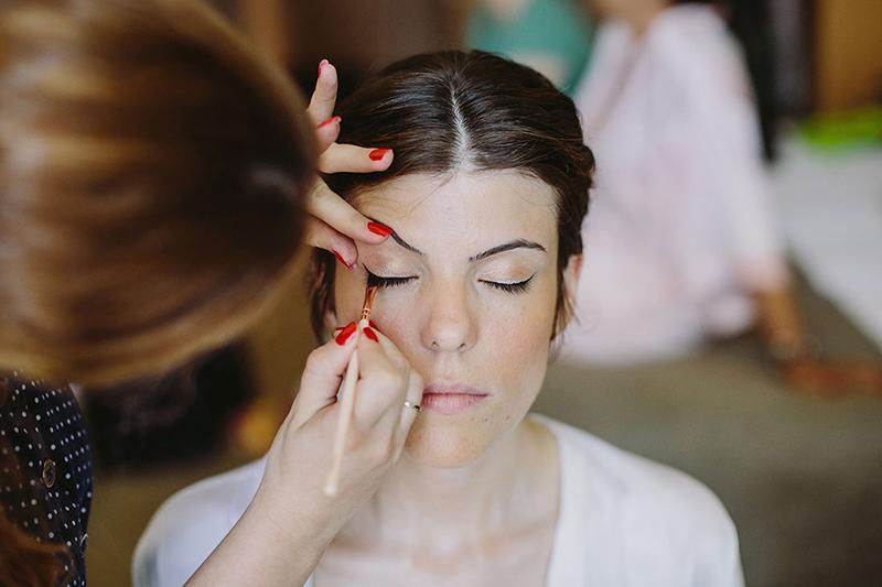 maquillaje novia laia martin www.bodasdecuento.com