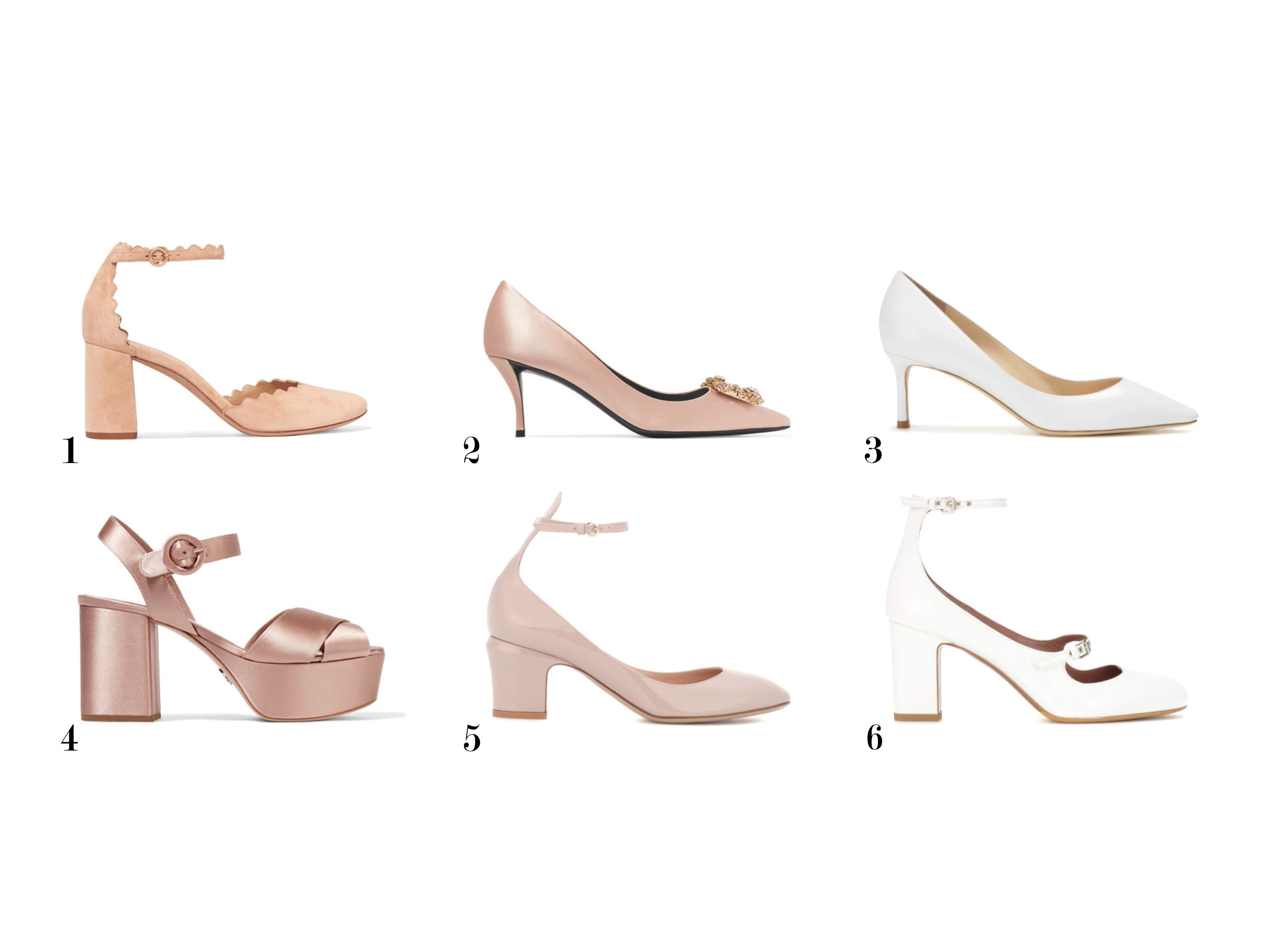 zapatos de novia tacón grueso www.bodasdecuento.com