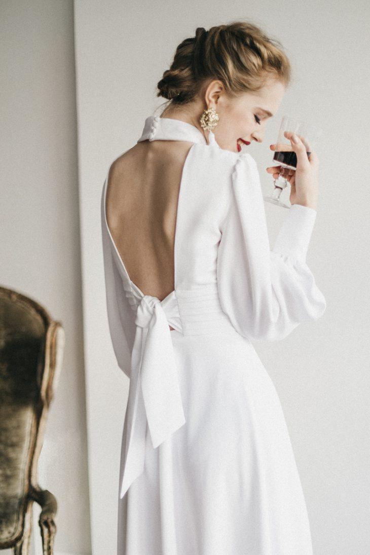 vestido novia Cherubina