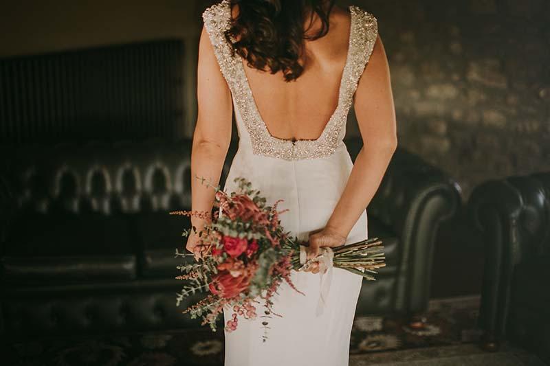 vestido novias pronovias www.bodasdecuento.com