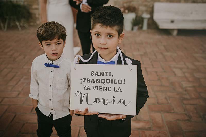 carteles madera boda www.bodasdecuento.com