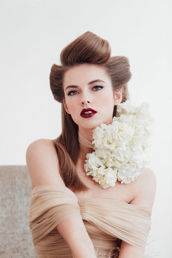 Oui Novias tendencias peluquería novias 2018 www.bodasdecuento.com