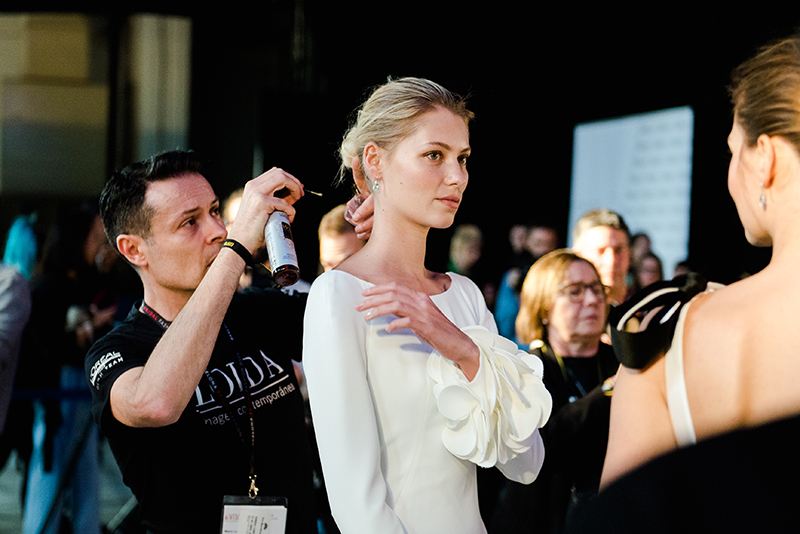 Backstage de la Barcelona Bridal Fashion Week