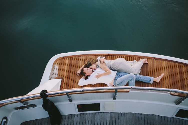 preboda en un barco www.bodasdecuento.com