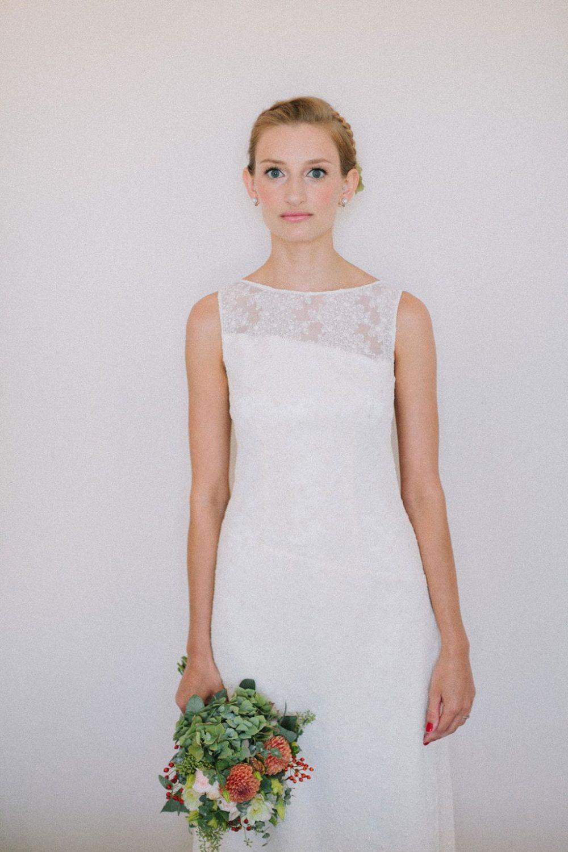 vestido de novia otaduy boda informal