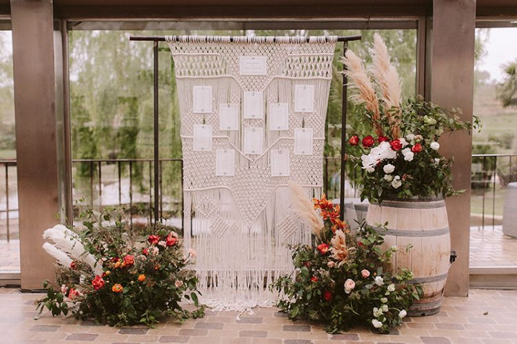 Boda interior con mucho rollo | Sitting telar ganchillo | www.bodasdecuento.com 29