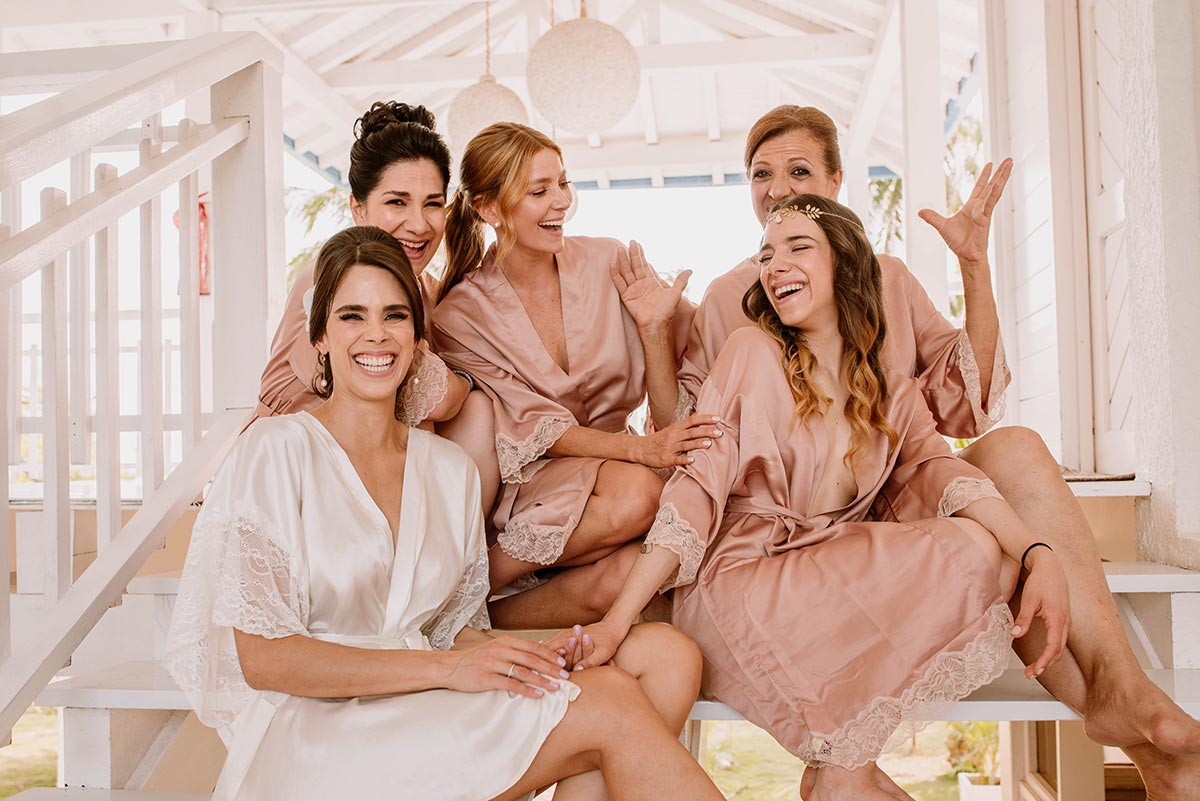 Novia madrina y damas de honor bridemaids | Bodas de Cuento