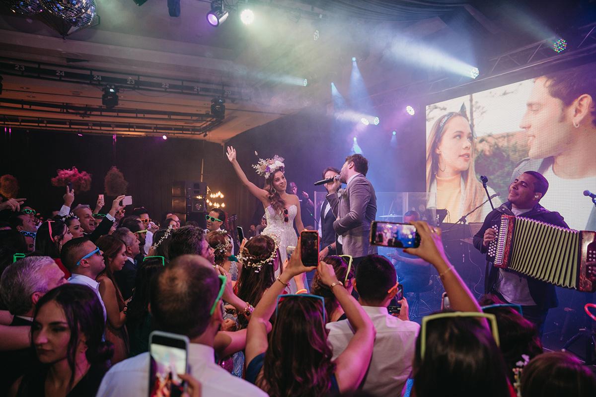 Actuación Gusi en boda en Bogota | Bodas de Cuento