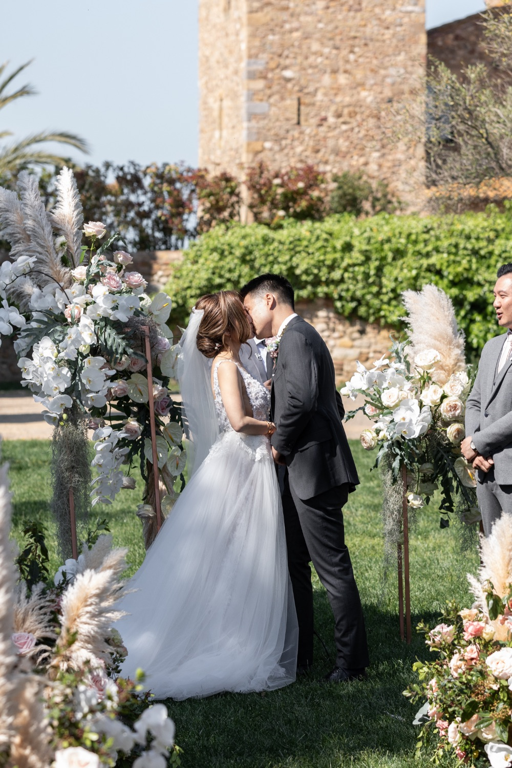 Wedding destination en un castillo ceremonia castle ceremony